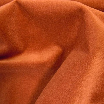 Cotton Velour Rust