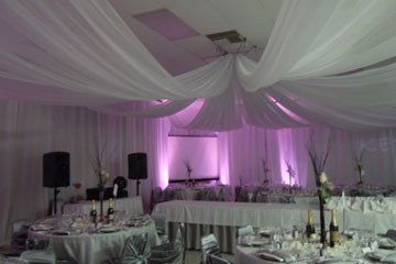 Event drapery custom wedding