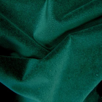 Polyester Velour Hunter Green