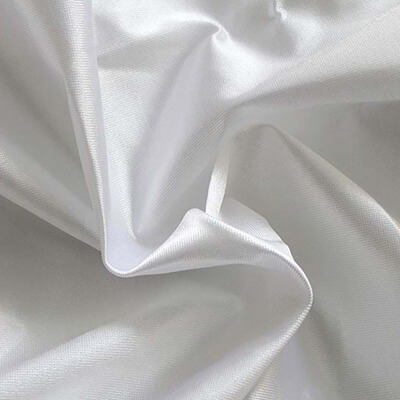 Poly Knit Silver Fabric