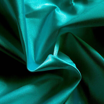 Poly Knit Teal Fabric