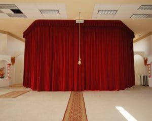 Stage Curtains For Churches - QSD Inc.