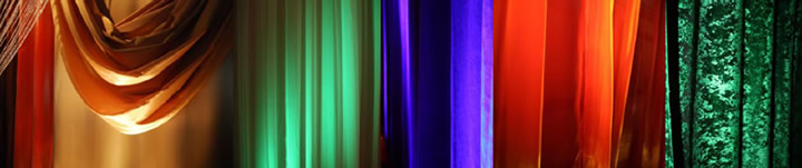 Event rentals color panels
