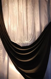 Event rentals curtains