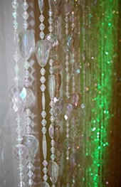 Event rentals glass beads
