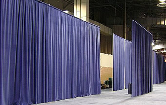 Event rentals pipe and drape