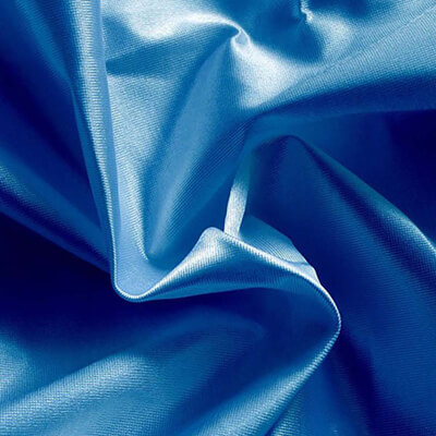 Poly Knit Royal Blue Fabric