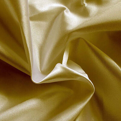 Poly Knit Spun Gold Fabric