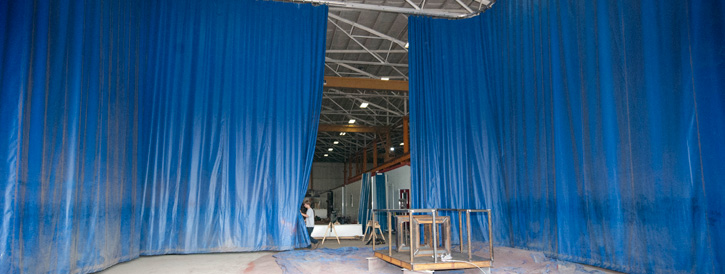 Pvc Curtains Industrial Curtains Divide Your Space