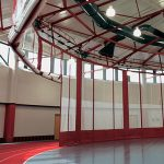 Radius-Fold QSD Gym Divider Systems