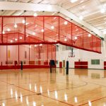 Ridge-Fold QSD Gym Divider Systems