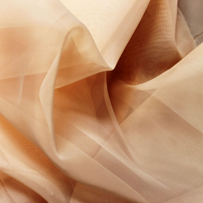 Sheer Drape Blush Fabric
