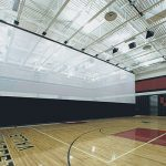 Top-Roll QSD Gym Divider Systems