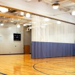 Walk-Draw QSD Gym Divider Systems