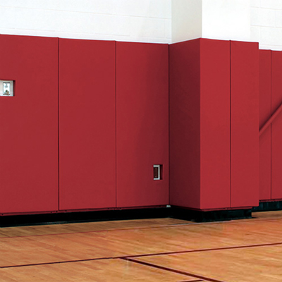 Gym Wall Pads Red