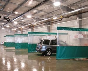 Wash Bay Curtains For Sale - QSD Inc.