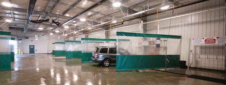 Wash Bay Curtains Car Washes Detailing Garages Or