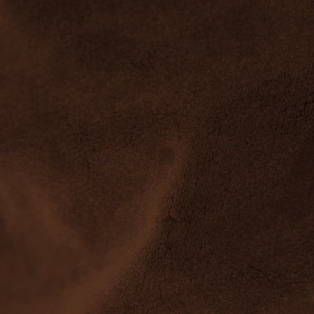 Crescent Polyester Velour Brown