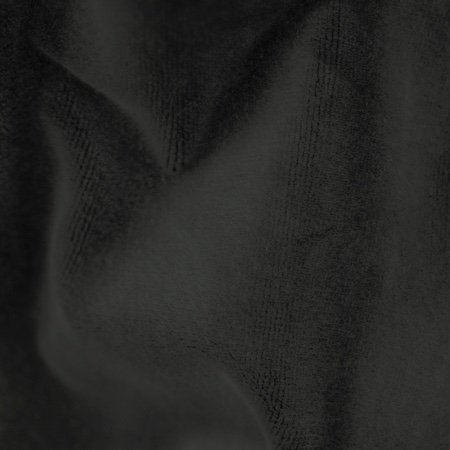 Memorable Cotton Velour Black