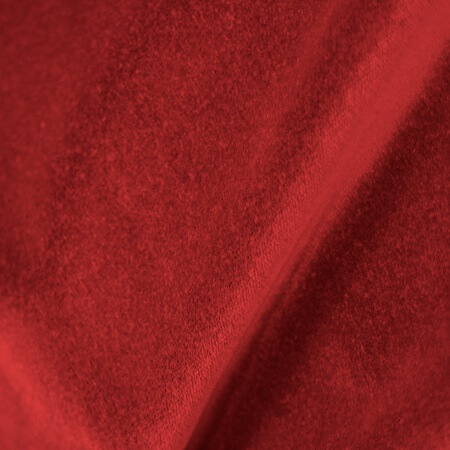 Prestige Polyester Velour Red