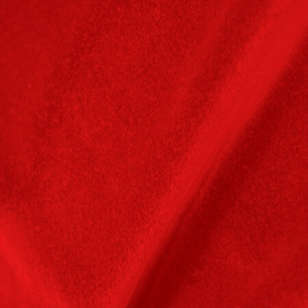 Prestige Polyester Velour Regal Red