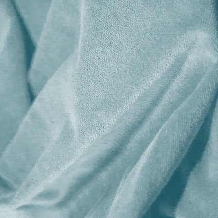 Princess Cotton Velour American Aqua