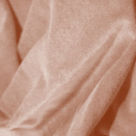 Princess Cotton Velour Ash Rose