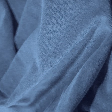 Princess Cotton Velour Ice Blue