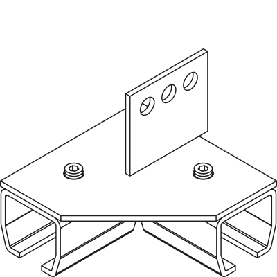310 90° Beam Support Angle Connector