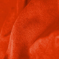 Plateau Polyester Velour Persimmon